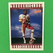 Champ Bailey 1999 Upper Deck Victory Rookie Card #387 NFL HOF Washington - $1.93