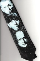 Ralph Marlin The 3 Stooges Theme Tie Larry Moe Curly - $12.00