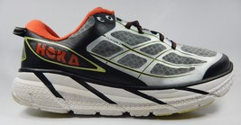 Hoka One One Clifton 2 Men's Running Shoes Size US 12.5 M (D) EU 47 1/3 Gray Red