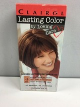 Vtg Clairol Lasting Color Loving Care 824 Dk Auburn Brown Level 2 COLLECTIBLE - $39.60