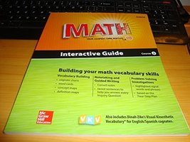 Glencoe Math, Course 2, Interactive Guide for English Learners, Student Edition
