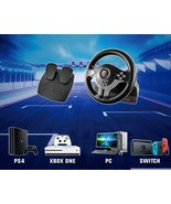 Subsonic Steering Wheel Driving With Pedals And Lollipop Of Gear Switch ... - $301.20