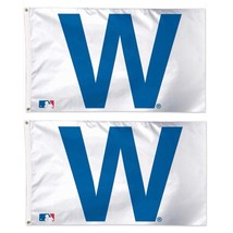 Chicago Cubs WinCraft 3' x 5' W Lot of Two Flags MLB $59.98 Save 40% Flag - $32.66