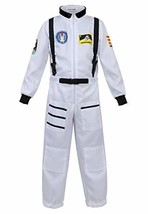 Haorugut Astronaut Costume for Kids Space Suit Role Play Dress up Costum... - $27.21
