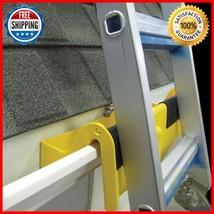 Ladder Docking Station Inside Gutter Stabilizer Roof Stand Safety Preven... - $52.99