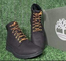 Timberland TB0A19UR Killington 6 In Black Boots Mens Leather Boots Size ... - $98.99