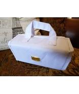 White Joy Mangano Better Beauty Case Removable Pouch Hanging Travel Orga... - $24.75