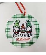 Hobby Lobby So Very Merry Gnome Ornament - New - $8.99
