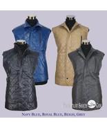 hombre chaqueta de cuero Trendy Camiseta acolchado Sin Mangas Bundi Nehru - $175.69