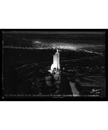 Nightlights Shrine of the Sun Real Photo Postcard Colorado Springs Will ... - $14.99