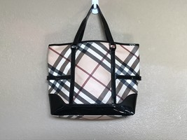 Burberry Large Canvas Tote Bag - $400.00