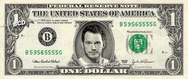 CHRIS PRATT on REAL Dollar Bill Cash Money Memorabilia Collectible Celeb... - $8.88