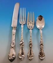 Les Cinq Fleurs by Reed & Barton Sterling Silver Flatware Set 8 Service 32 pcs - $1,995.00