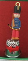 Tiny Toy Thimble Christmas Ornament Enesco 552682 1986 Toy Soldiers Orig Box T5 - $18.32