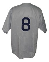 Scranton Miners Retro Baseball Jersey 1945 Button Down Grey Any Size image 2