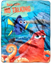 Disney Finding Dory Plush Fleece Throw Blanket Silky Soft Cuddly Plush B... - $15.95
