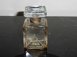 "VINTAGE REVLON INTIMATE EMPTY PERFUME BOTTLE 2.5"" TALL - $25.00"