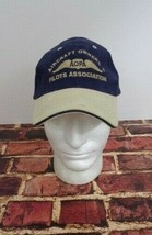 AOPA Aircraft Owners & Pilots Association Blue Cap Hat One Size Fly Jets - $23.51