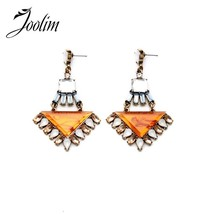 Retro Texture Triangle  Stud Earring Simple Earring Custom Jewelry Bir... - $9.57