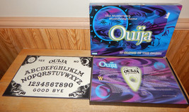 Ouija Board The Mystifying Game Parker Brothers 1998 Glow in the Dark CO... - $19.58