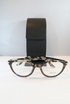 Prada Women's Tortoise Glasses with case VPR 07T-F U6P-1O1 Round 52mm - $76.95