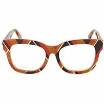 NEW Gucci GG0033OA- 007 Multicolored Eyeglasses 52mm with Gucci Case - $227.65