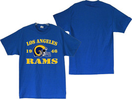 Los Angeles Rams 1946 Men's Royal Blue T-Shirt Sizes (S thru 4XL) - $20.78+