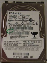 "New 80GB 2.5"" SATA Drive Toshiba MK8037GSX HDD2D61 Free USA Shipping - $48.95"