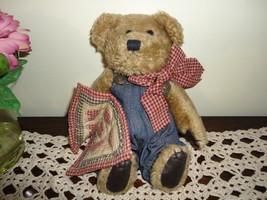 Boyds Bears Quilt Patch Bear Dilbert - $67.50