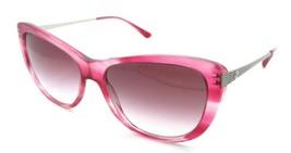 Giorgio Armani Sunglasses AR 8078 5489/8H 56-16-140 Striped Fuchsia /Vio... - $111.62