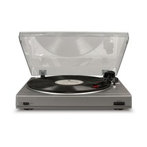 Crosley T200A-SI T200 Component Record Player Turntable w/Built in Preamp Silver - $114.95