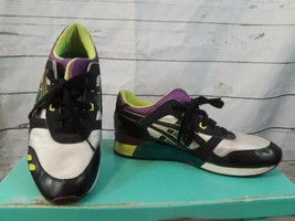Asics Gel lyte 3 US Size 11 Men's Purple Black Athletic Sneakers Running Shoes - $37.04