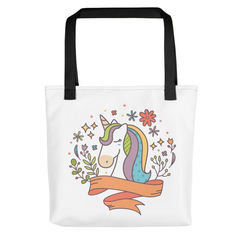 Noble Unicorn Tote Bag