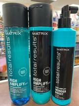 Matrix Total Results High Amplify  Shampoo & Conditioner 10oz DUO+Boost ... - $49.99