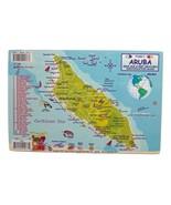 Aruba Dive Map & Coral Reef Creatures Guide Lam... - $5.00