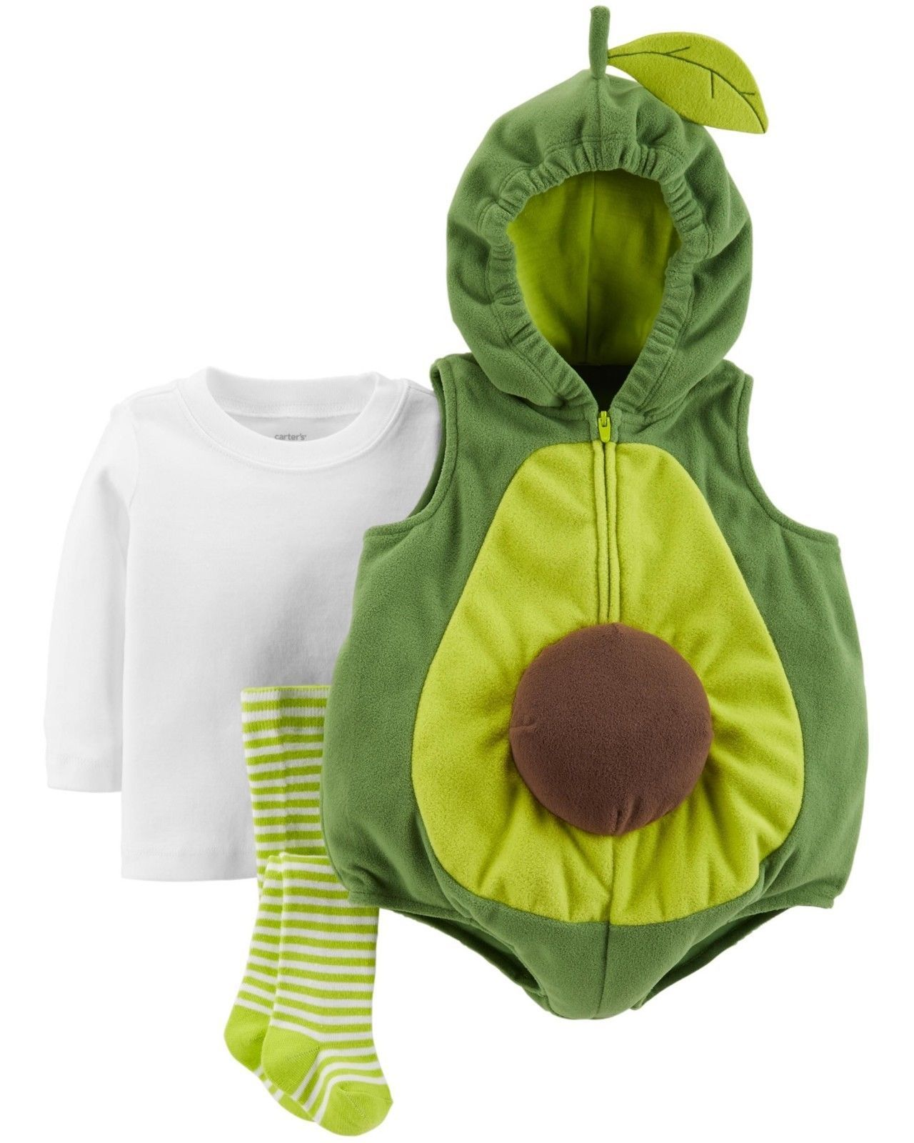 NEW NWT Carters Avocado Halloween Costume Boy or Girl 12 or 18 Months