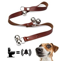 Dog Bells for Potty Training - Door Hanging Leather Sleigh Bell for Dogs... - $14.12