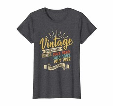 Dad Shirts -  Vintage retro July 1992 26th birthday 26 Years Old Wowen - $19.95+