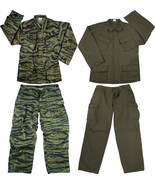 Vintage Military Rip-Stop Vietnam Tactical BDU Fatigue Uniform - $34.99+