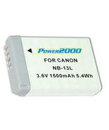Battery NB-13L for Canon PowerShot G7 X, G5x, G7 X Mark II 2, Digital Ca... - $29.65