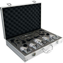 Pyle Pro PDKM7 7 Piece Drum Microphone Kit with Mounts and Case - $199.00