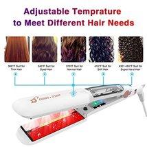 SWAN STAR Professional Infrared Steam Hair Straightener, Flat Iron Hair Straight image 3