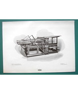 PRINTING PRESS by Machinery Trust Co Advertisement - 1901 Offset Litho P... - $7.27
