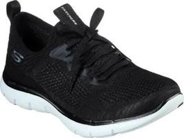 Skechers Women Stretch Knit Running Shoes Flex Appeal 2.0 Turn - $24.94