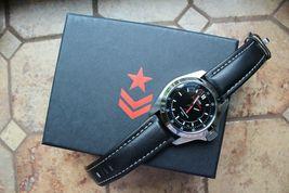 Vostok Komandirsky Russian Mechanical Automatic K-39 Military wristwatch 390775 image 8