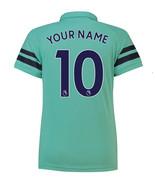 Arsenal Third CUSTOMISE NAME NUMBER 2018-19 Men Soccer Jersey Football S... - $36.99