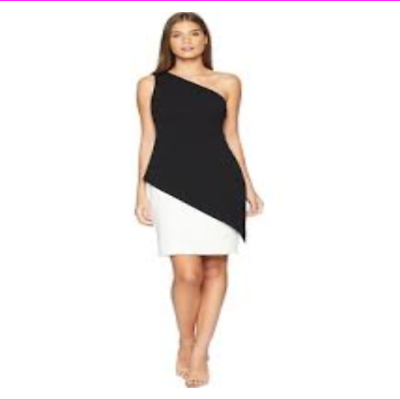 LAUREN Ralph Lauren Women's Jayke One Shoulder Day Dress
