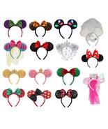 Disney Minnie Mouse Ears Headband Christmas Princess Halloween Mickey Be... - $59.35+