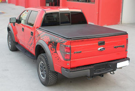 Tri-Fold Soft Tonneau Cover for Ford F-150 5.5ft Bed 2004-2014 - $239.95