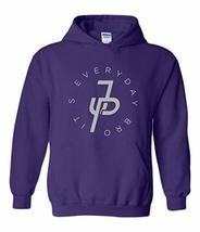 Jake Paul Its Everyday Bro Hoodie Purple (Silver Ink) - $29.99+